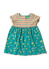 Little Green Radicals Beyond the Rainbow Easy Peasy Dress 12-18 Months