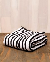Ink Stripe Cotton Muslin Baby Quilt