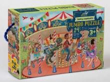 Little Likes Kids 24-Piece Joyful Carousel Puzzle