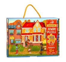 Little Likes Kids 48 Piece Puzzle - Fun Outside