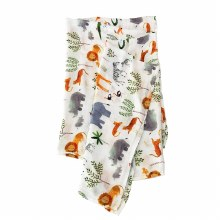 LLL Swaddle Bunny Meadow