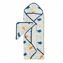 LouLou Lollipop Hooded Towel Set Dinoland
