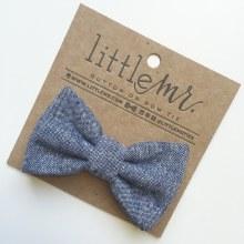 Little Mister Navy Bow Ties S