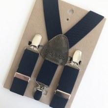 Little Mister Navy Suspenders M