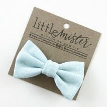 Little Mister Sky Blue Bow Ties L