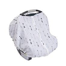 Little Unicorn Cotton Car Seat Canopy Arrow