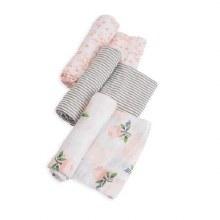 Little Unicorn Cotton Swaddle 3 Pack