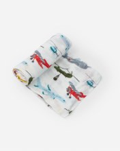 Deluxe Muslin Swaddle Air Show
