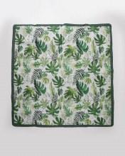 Tropical Leaf 5x5 Outdoor Blanket