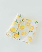 Cotton Musin Swaddle Lemon