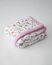 Little Unicorn Big Kid Muslin Quilt - Berry & Bloom