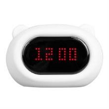 LumiClock Bear LED Nightlight Alarm Clock