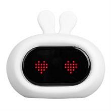 LumiClock Bunny LED Nightlight Alarm Clock