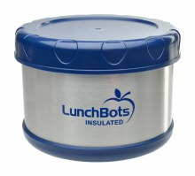 LunchBots Insulated Food Blue