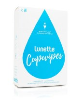 Lunette Cupwipe (10 pack)