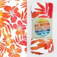 Luv Bug Sunscreen Towel Full Size- Tropical Breeze
