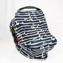 Luv Bug Car Seat Cover- Love