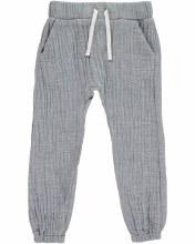 Me & Henry Blue Cotton Pants