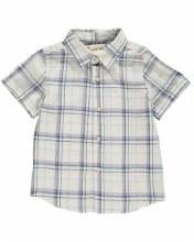 Me & Henry Blue Plaid Woven Shirt