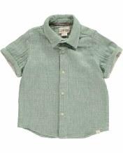 Me & Henry Green Woven Shirt