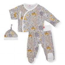 Magnetic Me Modal 3-Piece Kimono Set Sumatra 0-3 Months