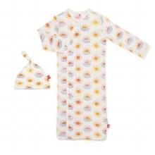 Magnetic Me Modal Newborn Gown & Hat Set Sol Mates