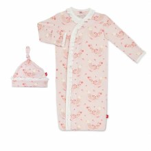 Magnetic Me Modal Birds of Paradise Gown Set Newborn-3 Months