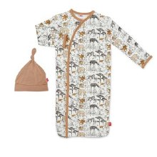 Magnetic Me Modal Great Migration Gown Set Newborn-3 Months