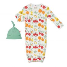 Magnetic Me Modal Perfect Puns Gown Set Newborn-3 Months
