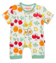 Magnetic Me Organic Cotton Romper Perfect Pun 3-6 Month