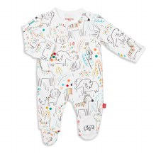 Magnetic Me Organic Footie Pop Jungle Preemie