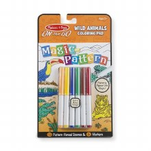Melissa & Doug Magic Pattern Wild Animals