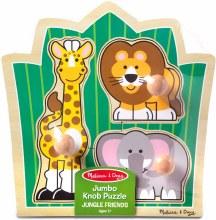 Jungle Jumbo Knob Puzzle