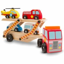 Melissan & Doug Emergency Vehicle Carrier
