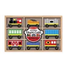 Melissa & Doug Train Cars