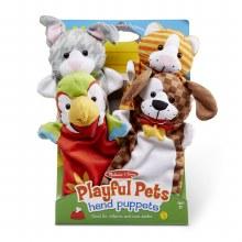 Melissa & Doug Hand Puppets Playful P