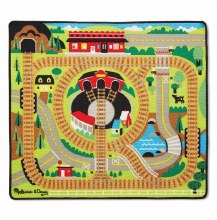Melissa & Doug Round the Rails Rug