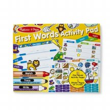 First Words Activity Pads