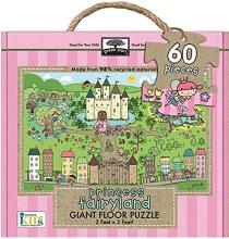 Melissa & Doug Giant Floor Puzzle- Princess Fairyland