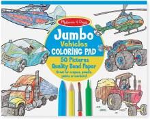Jumbo Color Pad Vehicles