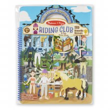 Melissa & Doug Puffy Sticker Activiy Book Riding Club