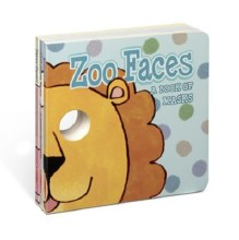 Melissa & Doug  Zoo Faces Board Book