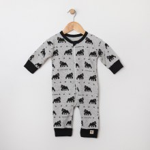 Me O My Earth Organic Cotton Coverall Gorilla 12-18 Months