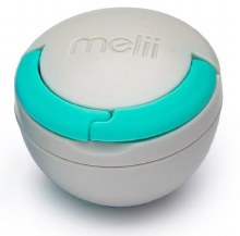Meliibaby Pacifier Pod Blue & Grey
