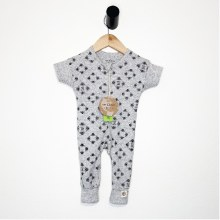 Save The Bees Heather Grey Organic Cotton Coverall