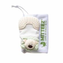 Mitteez Organic Teething Mitty- Pea Bear Green