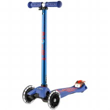 Maxi Deluxe LED Scooter Blue