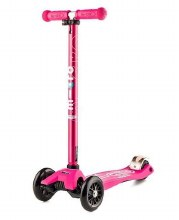 Micro Kickboard Maxi Deluxe Scooter Pink