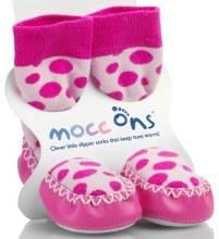 Mocc Ons Pink Spot 6-12