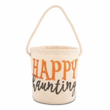 MudPie Happy Haunting Bucket Tote
